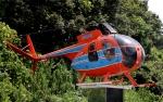 YASKYさんが、成田国際空港で撮影した新日本ヘリコプター 369HSの航空フォト(写真)
