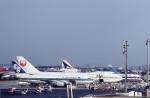 SHINYA@NATIONALCARGOさんが、名古屋飛行場で撮影した日本航空 747-146の航空フォト(写真)