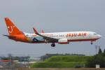 Tomo-Papaさんが、成田国際空港で撮影したチェジュ航空 737-86Qの航空フォト(写真)