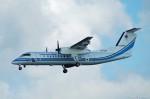 やまちゃんKさんが、那覇空港で撮影した海上保安庁 DHC-8-315 Dash 8の航空フォト(写真)