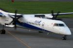 サビ丸さんが、中標津空港で撮影したANAウイングス DHC-8-402Q Dash 8の航空フォト(写真)