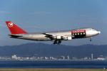 Gambardierさんが、関西国際空港で撮影したノースウエスト航空 747-251F/SCDの航空フォト(写真)