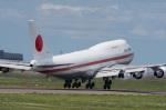 RQPさんが、新千歳空港で撮影した総理府 747-47Cの航空フォト(写真)