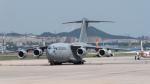 coolinsjpさんが、大連周水子国際空港で撮影したアラブ首長国連邦空軍 C-17A Globemaster IIIの航空フォト(写真)
