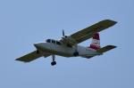 だん吉さんが、宮崎空港で撮影した第一航空 BN-2B-20 Islanderの航空フォト(写真)