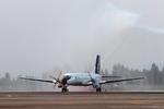 うさぎぱぱさんが、鹿児島空港で撮影した日本エアコミューター YS-11A-500の航空フォト(写真)