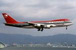 Gambardierさんが、関西国際空港で撮影したノースウエスト航空 747-251Bの航空フォト(写真)