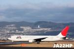 JA22HPさんが、伊丹空港で撮影した日本航空 767-346の航空フォト(写真)