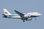 sr3600さんが、シンガポール・チャンギ国際空港で撮影したバンコクエアウェイズ A319-132の航空フォト(写真)