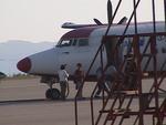 ヒロポンさんが、福島空港で撮影したエアーセントラル 50の航空フォト(写真)