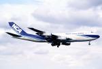 sakuraさんが、成田国際空港で撮影した日本貨物航空 747-281F/SCDの航空フォト(写真)