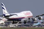 senyoさんが、成田国際空港で撮影したカナディアン航空 747-475の航空フォト(写真)