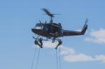 青猫さんが、上富良野駐屯地で撮影した陸上自衛隊 UH-1Jの航空フォト(写真)