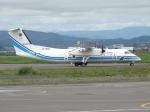 さわすけさんが、仙台空港で撮影した海上保安庁 DHC-8-315Q Dash 8の航空フォト(写真)