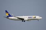 小牛田薫さんが、羽田空港で撮影したスカイマーク 737-8HXの航空フォト(写真)