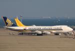 なごやんさんが、中部国際空港で撮影したシンガポール航空カーゴ 747-412F/SCDの航空フォト(写真)