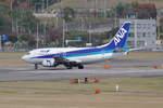 倉庫長さんが、福岡空港で撮影したANAウイングス 737-5L9の航空フォト(写真)