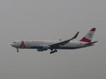 aquaさんが、北京首都国際空港で撮影したオーストリア航空 767-3Z9/ERの航空フォト(写真)