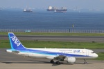 kikiさんが、羽田空港で撮影した全日空 A320-211の航空フォト(写真)
