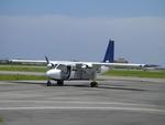 あっしーさんが、石垣空港で撮影したエアードルフィン BN-2B-26 Islanderの航空フォト(写真)