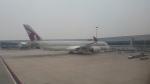 MRJさんが、シンガポール・チャンギ国際空港で撮影したカタール航空 A350-941XWBの航空フォト(写真)