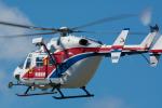 秋田空港 - Akita Airport [AXT/RJSK]で撮影された秋田県消防防災航空隊 - Akita Fire Fighting Disaster Prevention Air Corpsの航空機写真