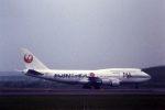fukucyanさんが、新千歳空港で撮影した日本航空 747-446Dの航空フォト(写真)
