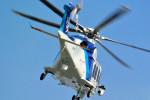 kaz787さんが、伊丹空港で撮影したオールニッポンヘリコプター AW139の航空フォト(写真)