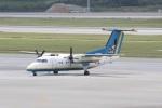 ショウさんが、那覇空港で撮影した琉球エアーコミューター DHC-8-103Q Dash 8の航空フォト(写真)