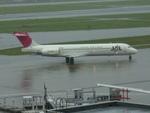 たみぃさんが、羽田空港で撮影した日本航空 MD-87 (DC-9-87)の航空フォト(写真)