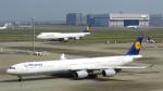 誘喜さんが、羽田空港で撮影したルフトハンザドイツ航空 A340-642の航空フォト(写真)