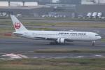 ぽんさんが、羽田空港で撮影した日本航空 767-346の航空フォト(写真)