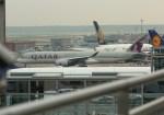 ケロさんが、フランクフルト国際空港で撮影したカタール航空 A350-941XWBの航空フォト(写真)