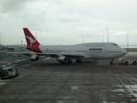 panchiさんが、オークランド国際空港で撮影したカンタス航空 747-338の航空フォト(写真)