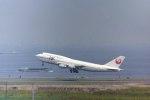 fukucyanさんが、羽田空港で撮影した日本航空 747-446Dの航空フォト(写真)