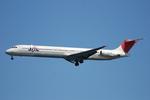 SkyWorldさんが、羽田空港で撮影したJALエクスプレス MD-81 (DC-9-81)の航空フォト(写真)