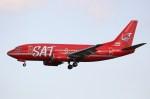 NRT_roseさんが、成田国際空港で撮影したサハリン航空 737-5L9の航空フォト(写真)