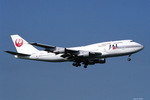 apphgさんが、成田国際空港で撮影した日本航空 747-346の航空フォト(写真)