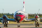 岡崎美合さんが、入間飛行場で撮影した航空自衛隊 YS-11-105FCの航空フォト(写真)