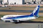 suu451さんが、羽田空港で撮影したエアーニッポン 737-281/Advの航空フォト(写真)