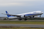 いっち〜@RJFMさんが、宮崎空港で撮影した全日空 777-381/ERの航空フォト(写真)