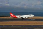 piyo piyoさんが、中部国際空港で撮影したカンタス航空 747-438/ERの航空フォト(写真)