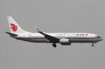 りんたろうさんが、香港国際空港で撮影した中国国際航空 737-89Lの航空フォト(写真)
