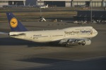 fukucyanさんが、羽田空港で撮影したルフトハンザドイツ航空 747-830の航空フォト(写真)