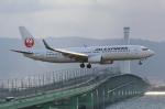 Koenig117さんが、関西国際空港で撮影したJALエクスプレス 737-846の航空フォト(写真)