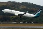 Semirapidさんが、長崎空港で撮影したシルクエア 737-8SAの航空フォト(写真)