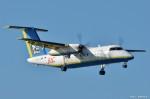 やまちゃんKさんが、那覇空港で撮影した琉球エアーコミューター DHC-8-103Q Dash 8の航空フォト(写真)
