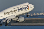 comさんが、羽田空港で撮影したルフトハンザドイツ航空 747-830の航空フォト(写真)