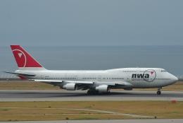TAOTAOさんが、中部国際空港で撮影したノースウエスト航空 747-451の航空フォト(写真)