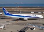 51ANさんが、羽田空港で撮影した全日空 767-381の航空フォト(写真)